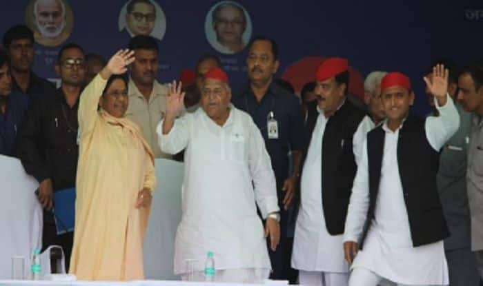 Mulayam, Mayawati Share Stage After 25 Years; BSP Supremo Attacks PM Modi, Calls Him 'Fake OBC'