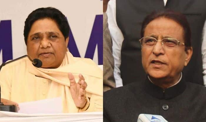 Mayawati and Azam Khan