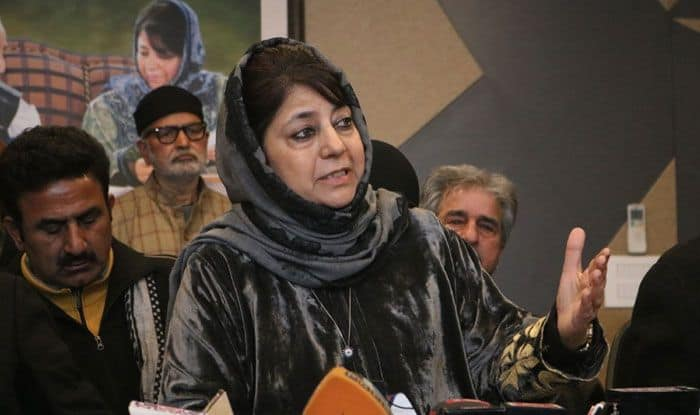 People's Democratic Party chief Mehbooba Mufti