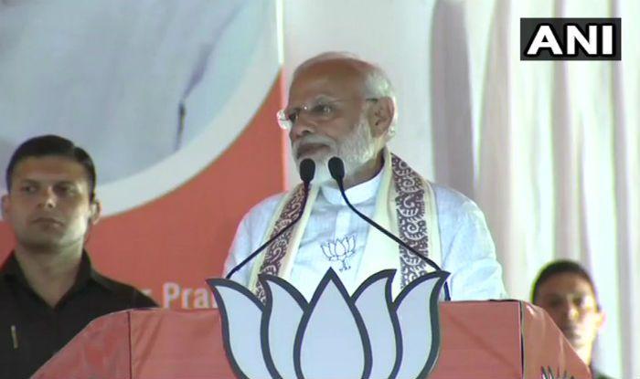Congress's 'Dhakosla Patra' Blowing Pakistan's Trumpet More Than That of India: PM Narendra Modi in Imphal
