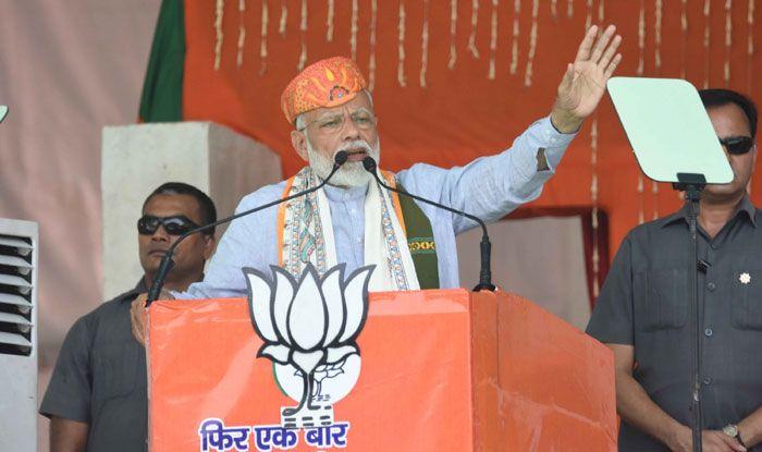 Prime Minister Narendra Modi in Darbhanga