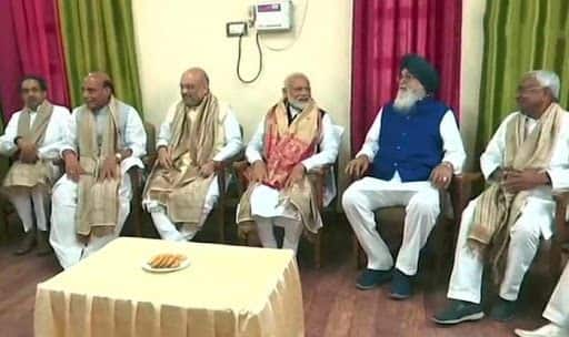 NDA Sends Strong Message From Varanasi as PM Modi Files Nomination in Presence of Allies