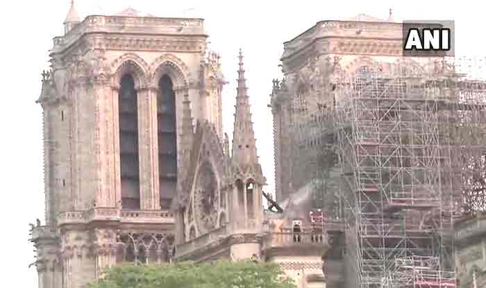 Construction Workers Questioned Over Notre Dame Cathedral Fire