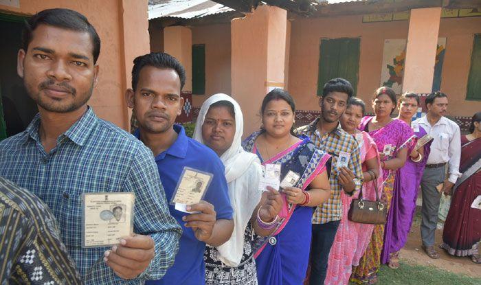 Polling in Odisha