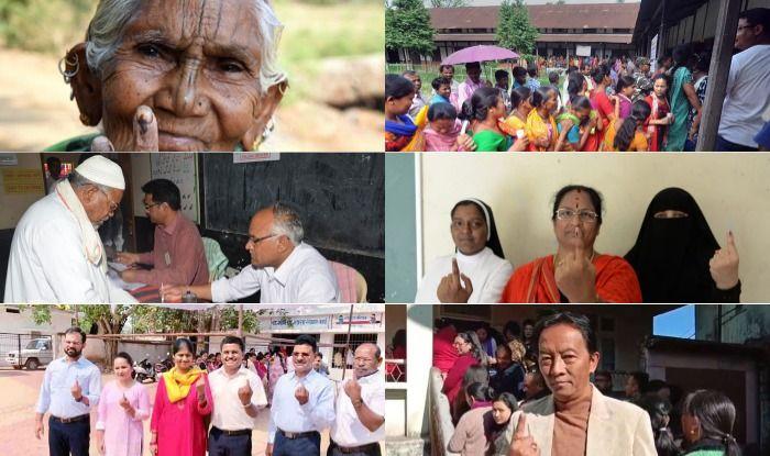 Polling in various states