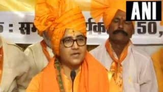 Plea Seeking to Bar me From Contesting Lok Sabha Elections 'Politically Motivated', Says Pragya Thakur