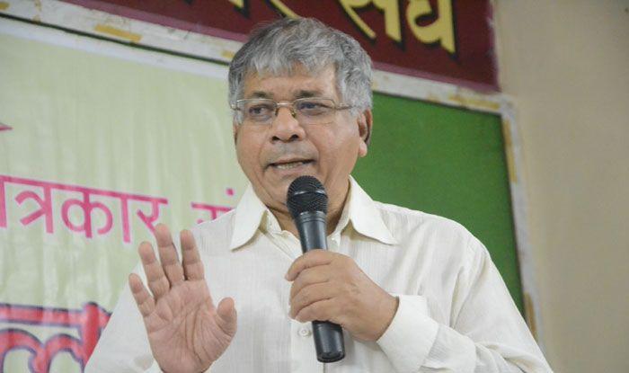 Dalit leader Prakash Ambedkar