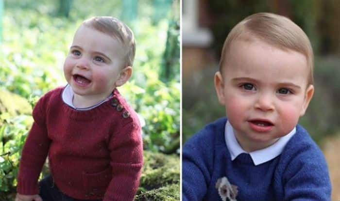 Kensington Palace's Official Page Shares Unseen Pics of Prince Louis on First Birthday