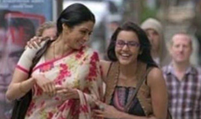 Priya Anand with Sridevi