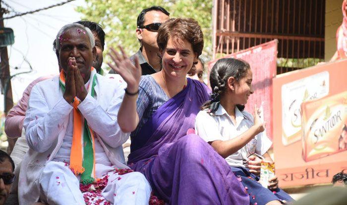 Priyanka Gandhi Vadra in Jhansi