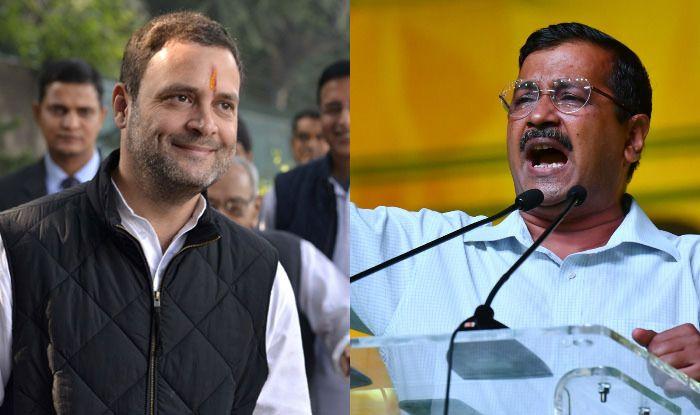 Rahul Gandhi and Arvind Kejriwal