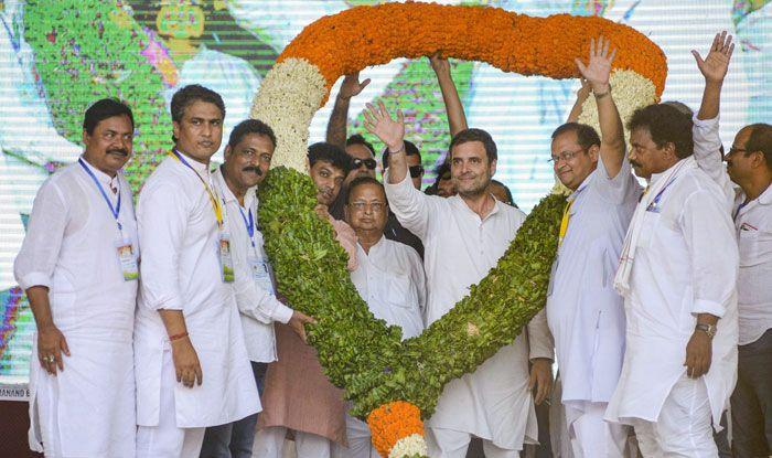 Congress president Rahul Gandhi in Balasore