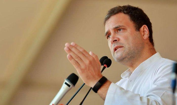 Congress president Rahul Gandhi in Pathanapuram