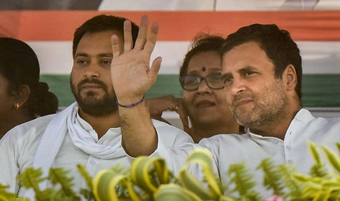 Congress chief Rahul Gandhi in Samastipur