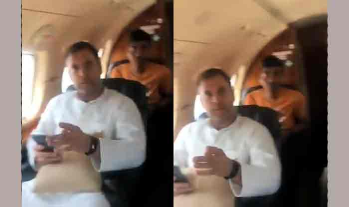Rahul Gandhi's Flight to Patna Suffers 'Engine Trouble'; Congress President Tweets Out Video of Cockpit