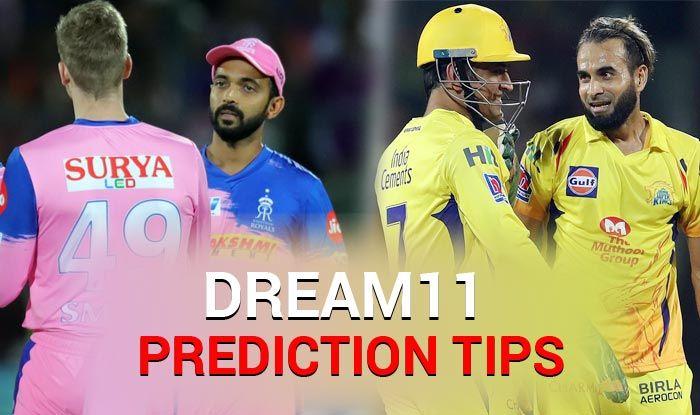 IPL 2019, CSK vs RR, Today Match Dream XI Predictions, Today Match Predictions, Today Match Tips, Today Match Playing xi, CSK playing xi, RR playing xi, dream 11 guru tips, Dream XI Predictions for today match, ipl CSK vs rr match Predictions, online cricket betting tips, cricket tips online, dream 11 tem, my team 11