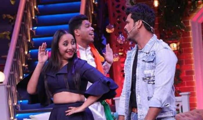 Rani Chatterjee and Khesari Lal Yadav