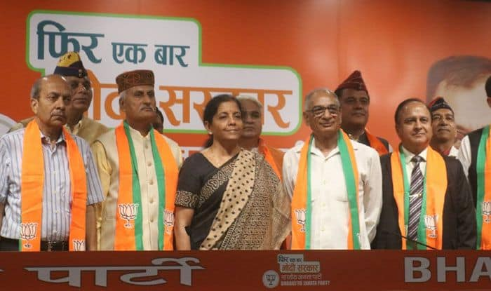 Retired army officers join BJP
