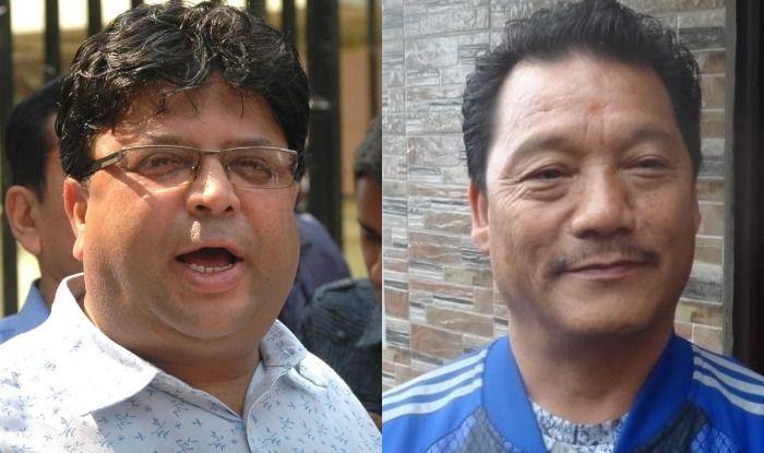 Roshan Giri and Bimal Gurung
