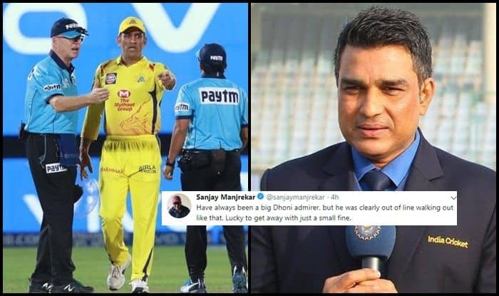 Sanjay Manjrekar slams Dhoni for his offence in 'no-ball' controversy