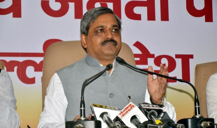 Former Delhi BJP chief Satish Upadhyay