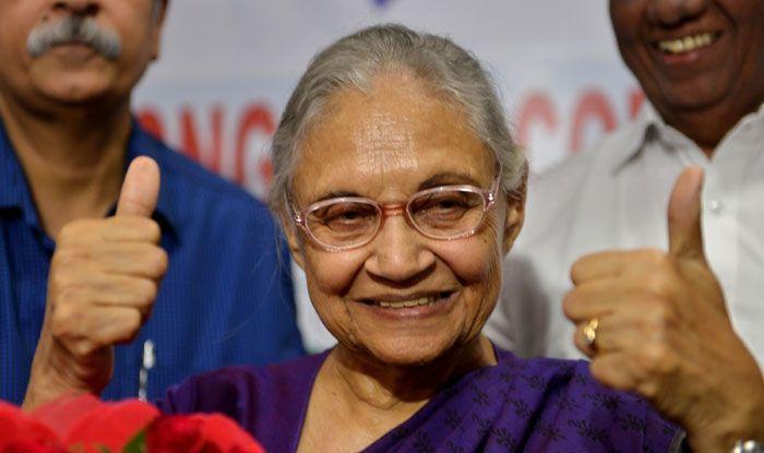 Delhi Congress chief Sheila Dikshit