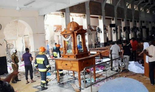 Days After Easter Bombings, Sri Lankan Catholics Hear Mass