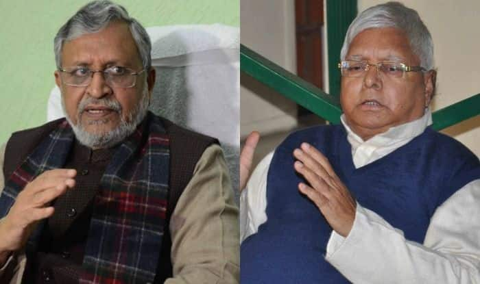 Sushil Kumar Modi and Lalu Prasad