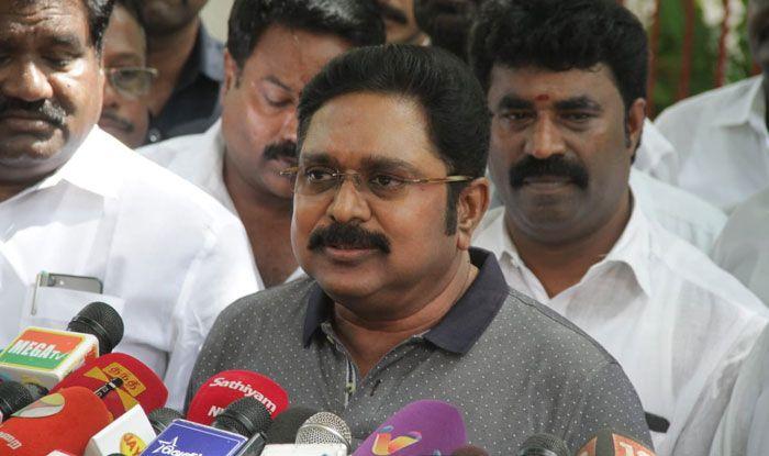 Amma Makkal Munnetra Kazhagam chief TTV Dhinakaran