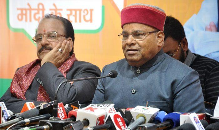 Union Minister Thawar Chand Gehlot