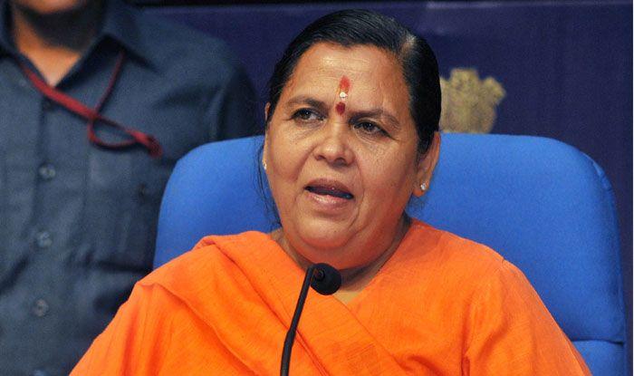 BJP leader Uma Bharti