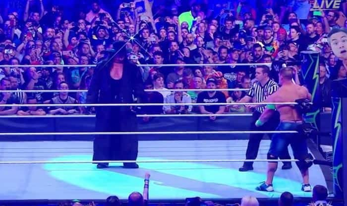 Undertaker and John Cena in Wrestlemania 35_picture credits-twitter