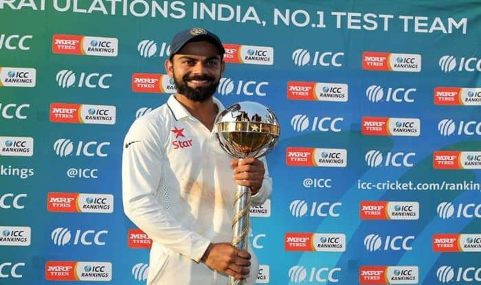 Virat Kohli-Led India Retain ICC Test Championship Mace For Third Year in a Row