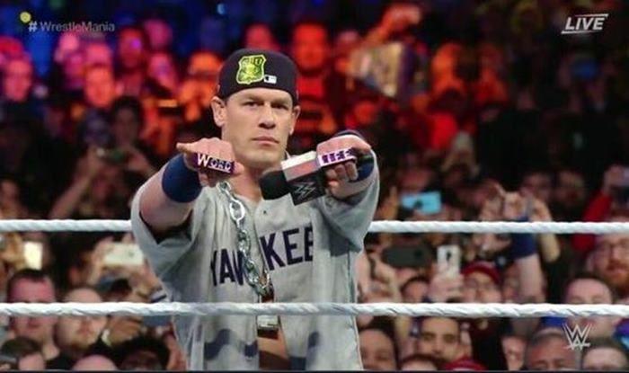 WWE Superstar John Cena Returns in Wrestlemania 35