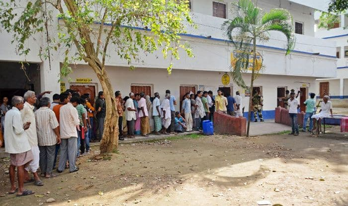 Polling in West Bengal