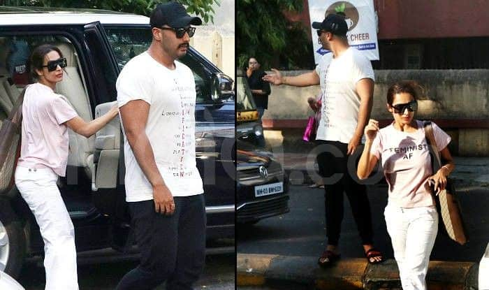 Malaika Arora And Arjun Kapoor Visit Hospital Together Amid Wedding Rumours, Any Guesses Why?