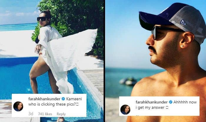 Arjun Kapoor Posts Photos From Maldives After Malaika Arora And This is How Farah Khan Reacts