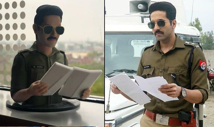 Ayushmann Khurrana Wraps up Anubhav Sinha's Article 15 And These Mini-Models of His Cop Role Are Proof