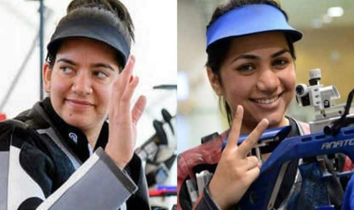 Apurvi Chandela, Anjum Moudgil, ISSF Shooting World Cup, Shooting World Cup, Shooting, Elavenil Valarivan