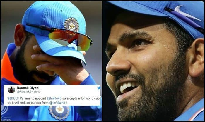 IPL 2019: Rohit Sharma Over Virat Kohli as Captain For Team India in World Cup 2019, Fans Make Big Demand   SEE POST