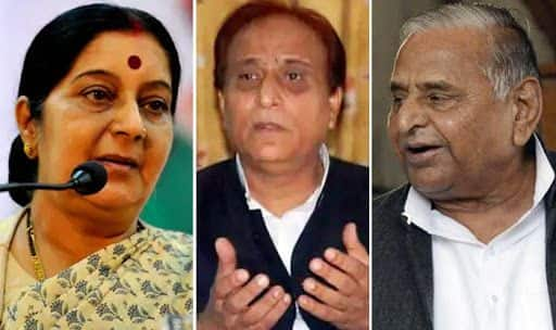 Rampur's Draupadi Being Disrobed, do Something: Sushma Urges Mulayam