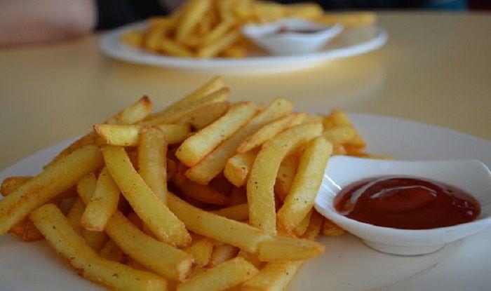 high fat fries