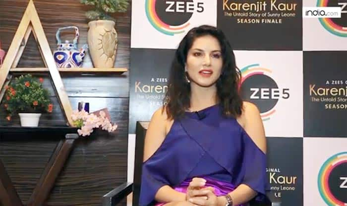 Sunny Leone Talks About Zee5 Series 'Karenjit Kaur Season Finale'