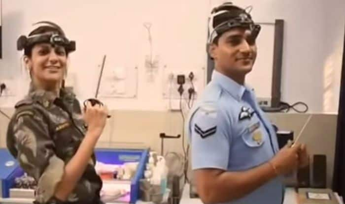 Uttar Pradesh: Indian Air Force Doctors Dance With Staff, Patients on Pharrell Williams' 'Happy' Song, Video Goes Viral