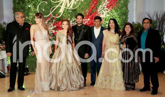 Celebs at Wedding Reception of Jayantilal Gada's Son