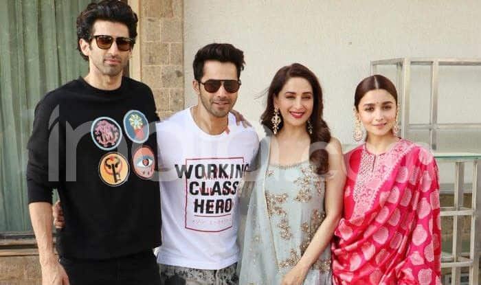 Alia Bhatt, Varun Dhawan And Others Promote Kalank in Mumbai