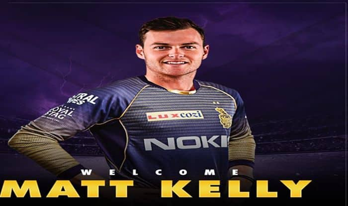 IPL 2019: KKR Sign Matthew Kelly to Replace Injured Anrich Nortje