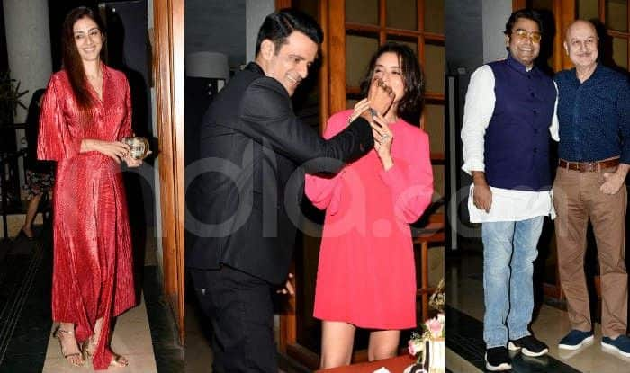 Manoj Bajpayee Celebrates Birthday With Fans And Friends From Industry