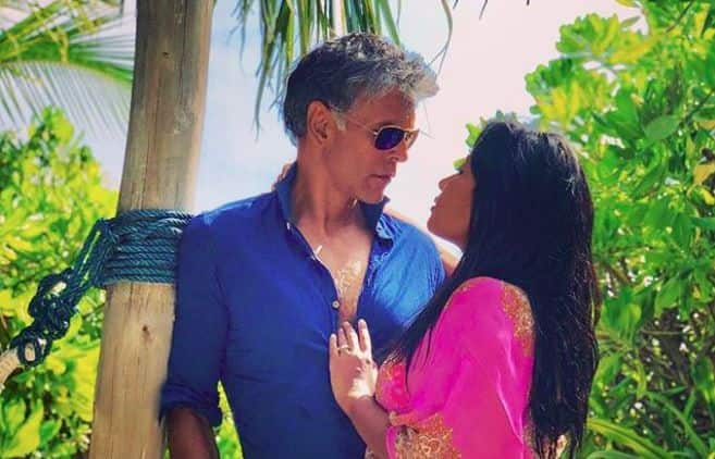 Milind Soman-Ankita Konwar's Cosy Romantic Picture From Maldives is Winning Hearts