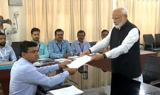 PM Narendra Modi Files Nomination Papers From Varanasi For Second Term